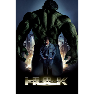 The Incredible Hulk 4K / UHD Digital Movie