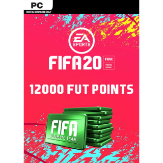 FIFA 20 12000 Ultimate Team Points PC ( Instant Delivery )