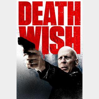 Death Wish HD foxredeem.com google play or vudu