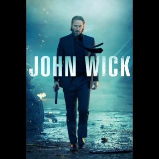 John Wick 1 & 2 movieredeem.com VUDU or google play