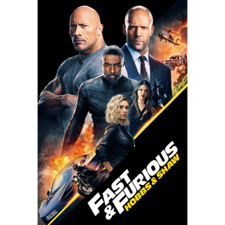 Fast & Furious Presents: Hobbs & Shaw 4K UHD moviesanywhere.com