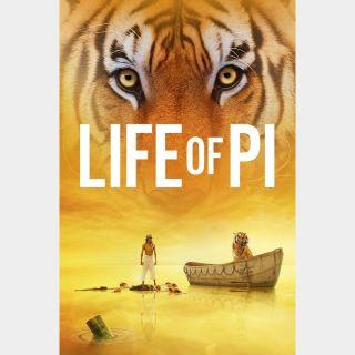 Life of Pi HD MA