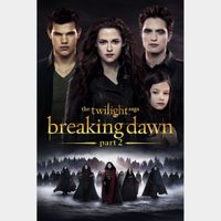 The Twilight Saga: Breaking Dawn - Part 2 HD movieredeem.com iTunes Google Play VUDU Fandango