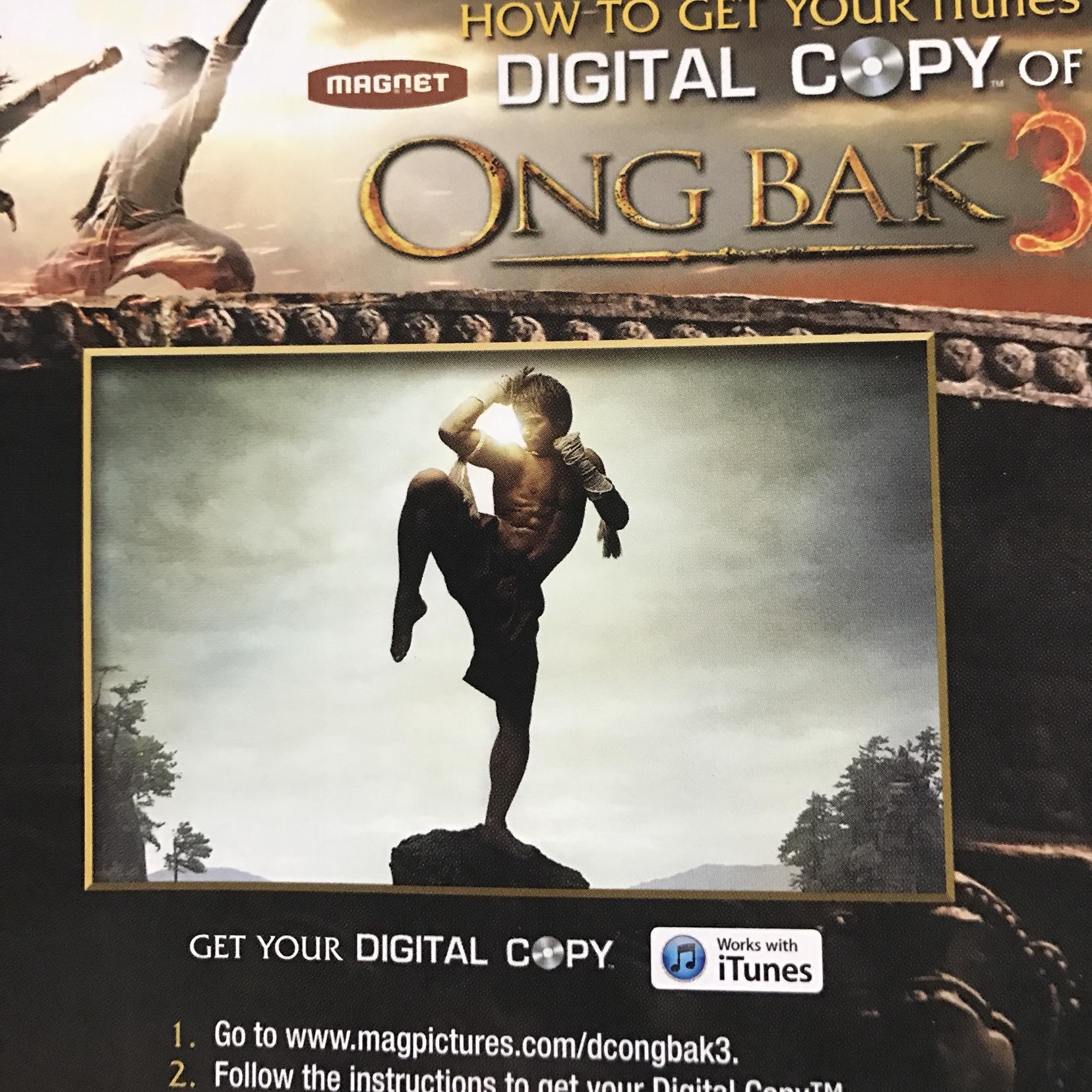 Ong Bak 3 HD digital download iTunes us only - Digital Movies