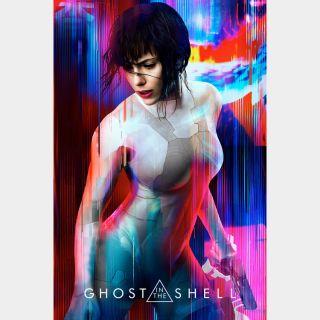 Ghost in the Shell HD paramountmovies.com itunes vudu fandango