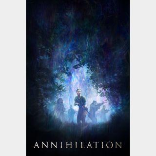 Annihilation HD Paramountmovies.com iTunes, vudu, fandango
