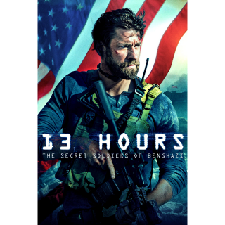 13 Hours: The Secret Soldiers of Benghazi HD Paramountmovies.com UV UltraViolet