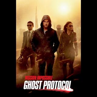 Mission: Impossible - Ghost Protocol HD digital download Paramountdigitalcopy.com