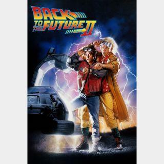 Back to the Future Part II HD MA