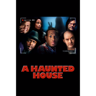 A Haunted House HD digital download UV UltraViolet US ONLY