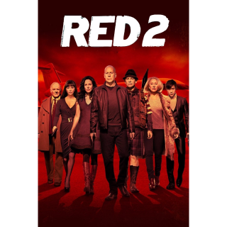 RED 2 HD digital download UV UltraViolet US ONLY