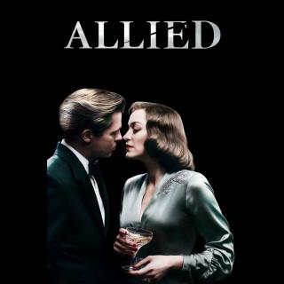 Allied HD redeem at paramountmovies.com