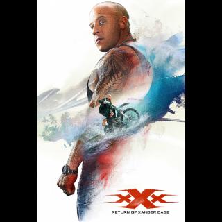 xXx: Return of Xander Cage 4K UHD paramountmovies.com