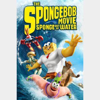 The SpongeBob Movie: Sponge Out of Water HD paramountdigitalcopy.com/redeem itunes, vudu, or fandango