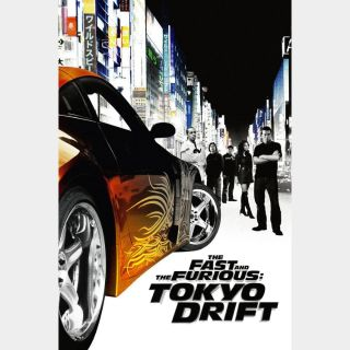 The Fast and the Furious: Tokyo Drift HD MA