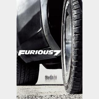 Furious 7 HD MA
