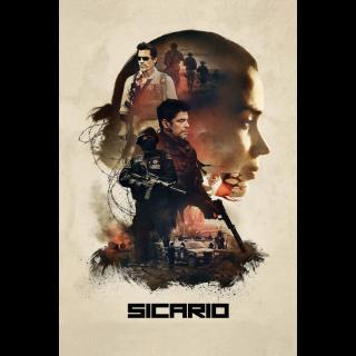 Sicario HD movieredeem.com iTunes, VUDU, Fandango, Google Play