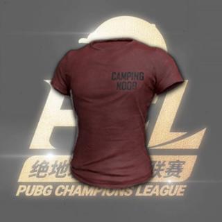 PUBG | PCL Red T-shirt PLC