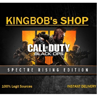 Call of Duty®: Black Ops 4 - Spectre Rising Edition (includes Multiplayer, 3 Full Zombies maps and Black out Battle)