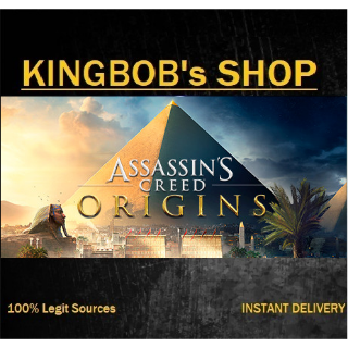Assassin's Creed Origins + Season Pass (EU) Giftlinks