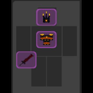 Bundle | Infernal Warrior Set DQ
