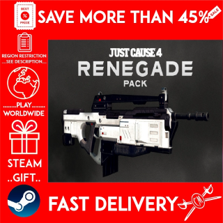 Just Cause™ 4: Renegade Pack ❗DLC❗ (STEAM GIFT)🎁🎁🎁 (get a bonus game 🎮 and a discount 💵 for the next purchase)