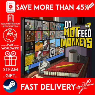 Do Not Feed the Monkeys (STEAM GIFT)🎁🎁🎁 (get a bonus game 🎮 and a discount 💵 for the next purchase)