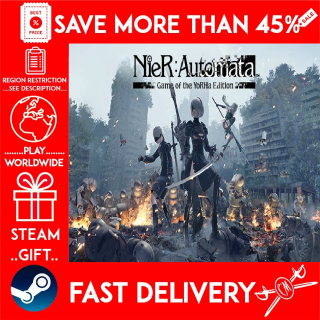 NieR:Automata™ Game of the YoRHa Edition (STEAM GIFT) 🎁🎁🎁 (get a bonus game 🎮 and a discount 💵 for the next purchase)