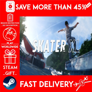 Skater XL (STEAM GIFT) 🎁🎁🎁 (get a bonus game 🎮 and a discount 💵 for the next purchase)