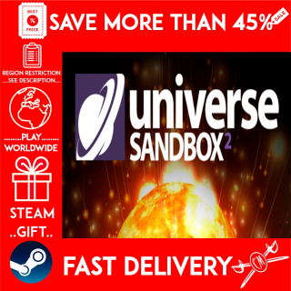 Universe Sandbox ² (STEAM GIFT)🎁🎁🎁 (get a bonus game 🎮 and a discount 💵 for the next purchase)