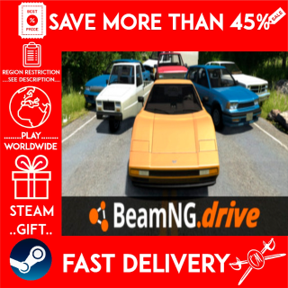 BeamNG.drive (STEAM GIFT)🎁🎁🎁 (get a bonus game 🎮 and a discount 💵 for the next purchase)
