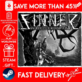 SINNER: Sacrifice for Redemption (STEAM GIFT)🎁🎁🎁 (get a bonus game 🎮 and a discount 💵 for the next purchase)