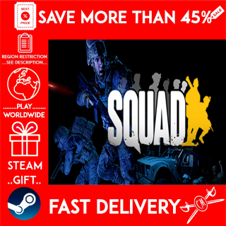Squad (STEAM GIFT) 🎁🎁🎁 (get a bonus game 🎮 and a discount 💵 for the next purchase)