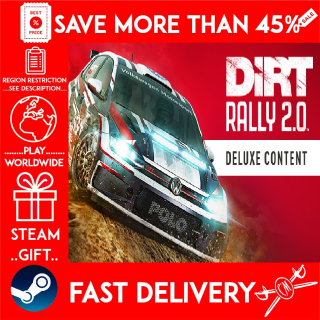DiRT Rally 2.0 Deluxe Upgrade ❗DLC❗ (STEAM GIFT)🎁🎁🎁 (get a bonus game 🎮 and a discount 💵 for the next purchase)