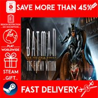 Batman: The Enemy Within - The Telltale Series (STEAM GIFT) 🎁🎁🎁 (get a bonus game 🎮 and a discount 💵 for the next purchase)