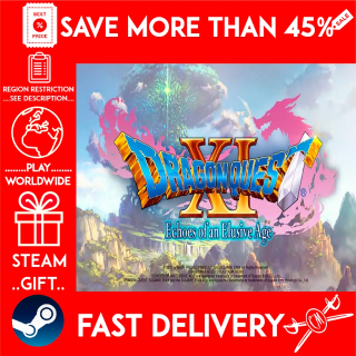 DRAGON QUEST® XI: Echoes of an Elusive Age (STEAM GIFT) 🎁🎁🎁 (get a bonus game 🎮 and a discount 💵 for the next purchase)