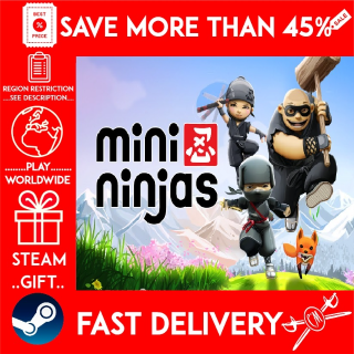 Mini Ninjas (STEAM GIFT)🎁🎁🎁 (get a bonus game 🎮 and a discount 💵 for the next purchase)