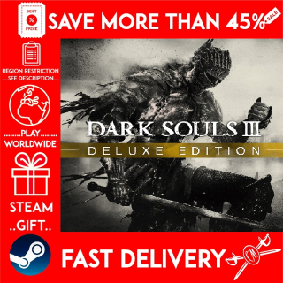 DARK SOULS III Deluxe Edition (STEAM GIFT) 🎁🎁🎁 (get a bonus game 🎮 and a discount 💵 for the next purchase)