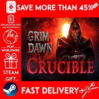 Grim Dawn - Crucible Mode DLC (STEAM GIFT)🎁🎁🎁 (get a bonus game 🎮 and a discount 💵 for the next purchase)