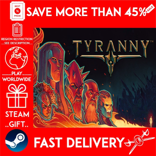 Tyranny - Standard Edition (STEAM GIFT)🎁🎁🎁 (get a bonus game 🎮 and a discount 💵 for the next purchase)