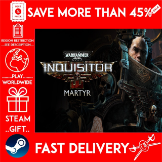 Warhammer 40,000: Inquisitor - Martyr (STEAM GIFT)🎁🎁🎁 (get a bonus game 🎮 and a discount 💵 for the next purchase)
