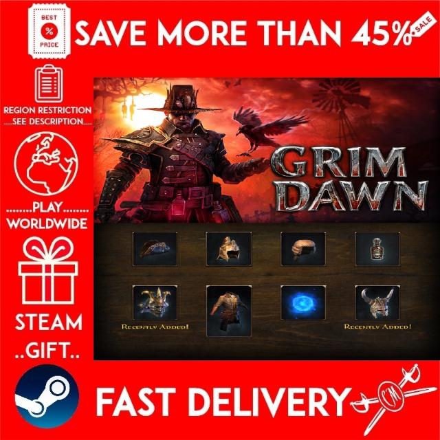 Grim Dawn - Steam Loyalist Items Pack (STEAM GIFT) (get