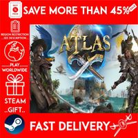 ATLAS (STEAM GIFT)🎁🎁🎁 (get a bonus game 🎮 and a discount 💵 for the next purchase)