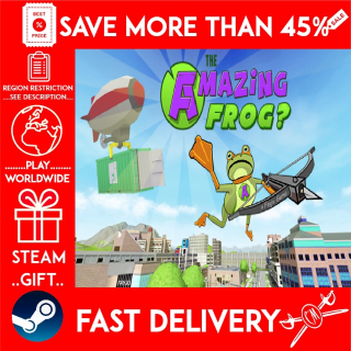 Amazing Frog? (STEAM GIFT)🎁🎁🎁 (get a bonus game 🎮 and a discount 💵 for the next purchase)
