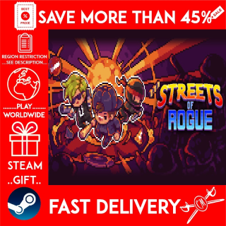 Streets of Rogue (STEAM GIFT) 🎁🎁🎁 (get a bonus game 🎮 and a discount 💵 for the next purchase)