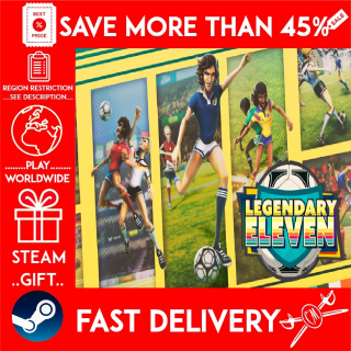 Legendary Eleven: Epic Football (STEAM GIFT)🎁🎁🎁 (get a bonus game 🎮 and a discount 💵 for the next purchase)