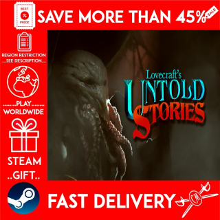 Lovecraft's Untold Stories (STEAM GIFT)🎁🎁🎁 (get a bonus game 🎮 and a discount 💵 for the next purchase)