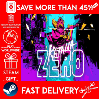 Katana ZERO (STEAM GIFT) 🎁🎁🎁 (get a bonus game 🎮 and a discount 💵 for the next purchase)