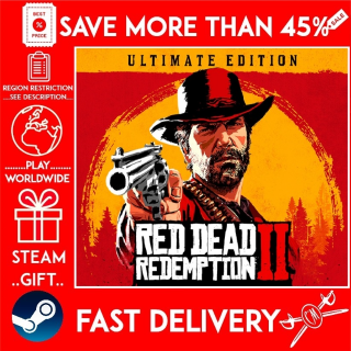 Red Dead Redemption 2: Ultimate Edition (STEAM GIFT) 🎁🎁🎁 (get a bonus game 🎮 and a discount 💵 for the next purchase)