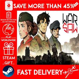 WARSAW (STEAM GIFT) 🎁🎁🎁 (get a bonus game 🎮 and a discount 💵 for the next purchase)